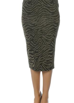 Трикотажная осенняя юбка