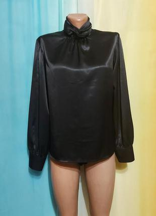 Идеальная стильная блуза/шёлк.