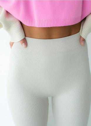 Лосины спортивные штаны леггинсы для фитнеса