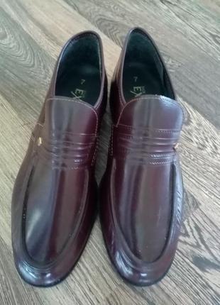 Мужские туфли чоловічі туфлі