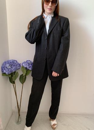 Костюм из ткани  loro piana/деловой костюм/пиджак кашемир/brunello/