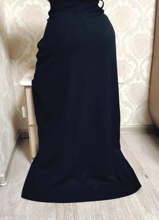 Стильная , классная осенняя юбка в пол