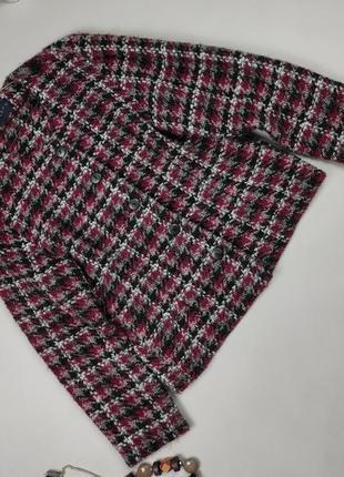 Пиджак жакет красивый шерстяной люксовый alexon s