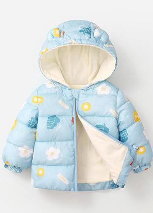 Детская куртка на флисе дитяча куртка фліс