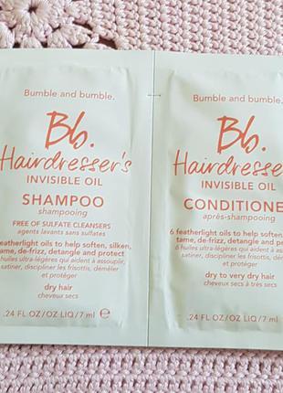 Bumble & bumble hairdresser's invisible oil набор шампунь+кондиционер