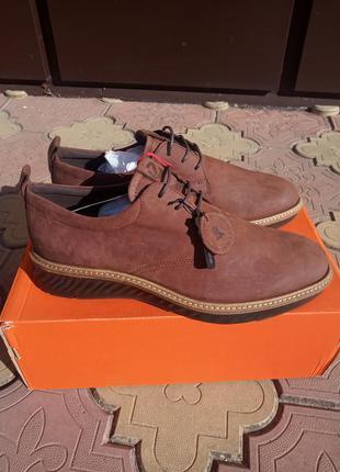 Оригинальные мужские туфли от ессо. кожаные. оригинал.