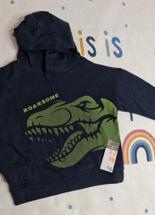 Свитшот с динозавром primark
