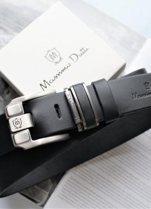 Ремень massimo dutti черный мужской на подарок наложенный платеж купить