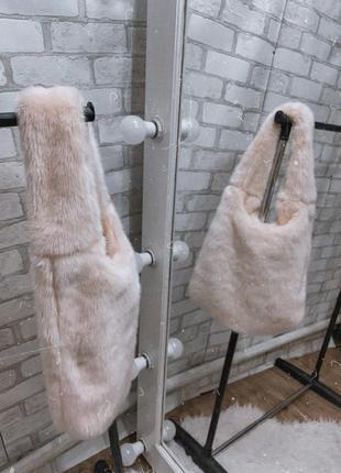 Мякенька пухнаста сумка