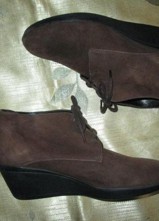 Fratelli rossetti оригинал замшевые (кожаные) ботинки италия