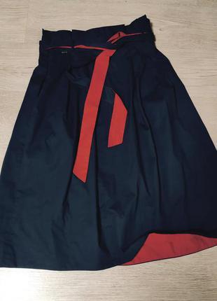 Стильная,классная юбка с высокой талией