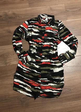 Рубашка абстрактной расцветки h&m