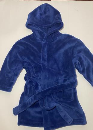 Махровый халат на мальчика