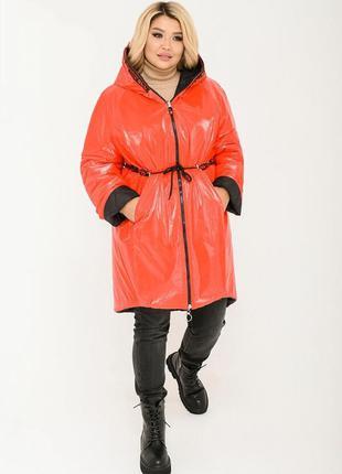 Стильная двухсторонняя куртка 48-52, 54-58, 60-64