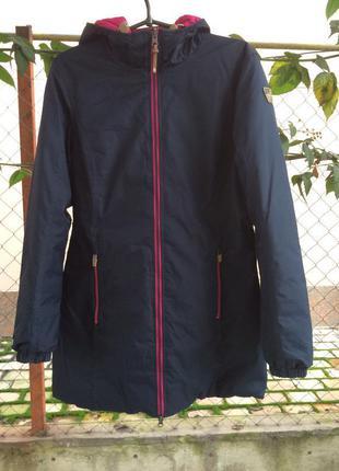Зимний пуховик - куртка коламбиа/columbia размер м