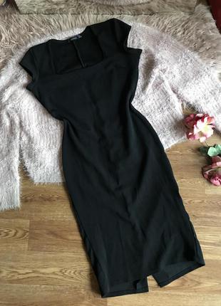 Платье-миди по фигуре (s/m)