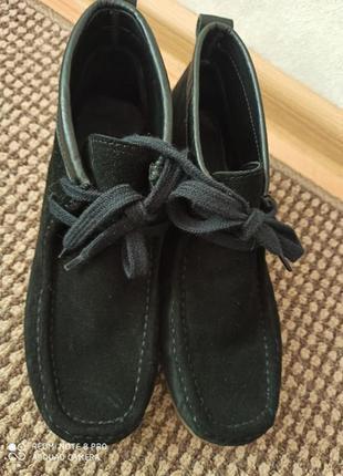 Ботіночки туфлі з натуральної замші іспанія zara