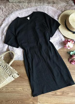 Стильное платье футболка (s)