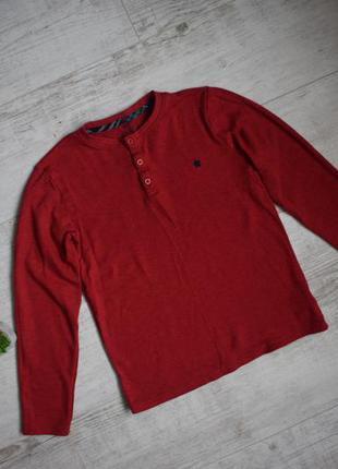 Темно красный реглан кофта на мвльчика 12-13 лет, f&f