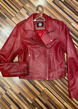 Куртка (косуха) из натуральной кожи, р. xs/s