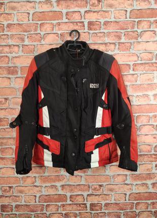 Женская мотокуртка байкерская куртка с защитой ixs
