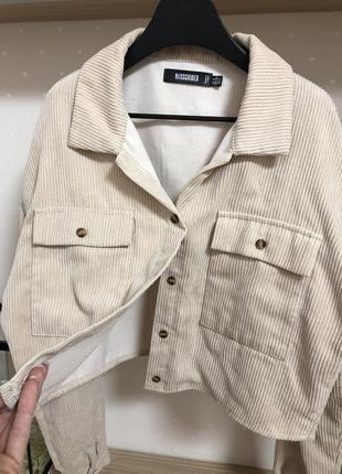 Стильная куртка рубашка кофта накидка вельвет