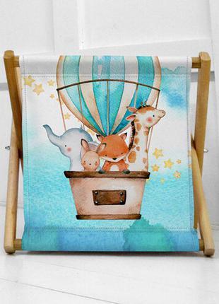 Ящик для хранения детских игрушек воздушный шар (kor_21s003)