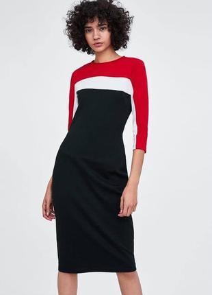 Трикотажное спортивное платье zara