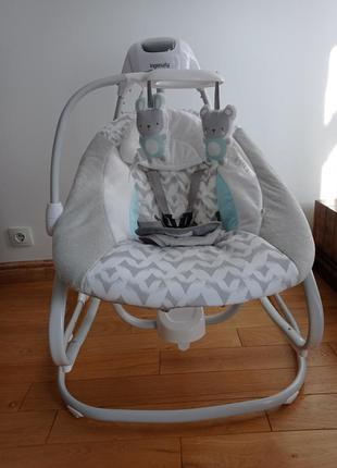 Крісло-гойдалка ingenuity simple comfort 2 в 1