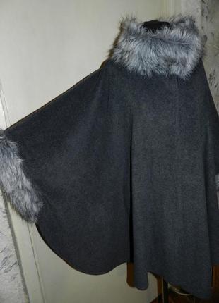 Асимметричное манто-кардиган-кейп-лёгкое пальто,бохо,мега батал,оверсайз,m&s