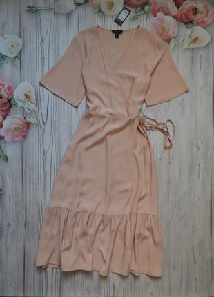 🌿нежное платье  на запах от new look. размер 2xl🌿