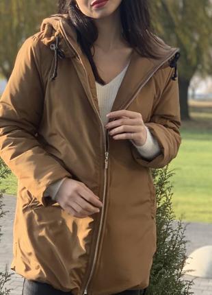Куртка довга осінь 2021