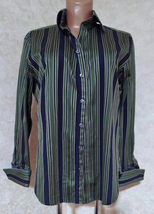Люкс качество! рубашка под запонки ted baker, m (15,5)