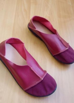 Новые супермягкие кожаные туфли