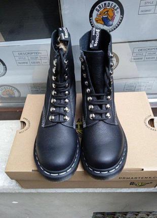 Ботинки dr. martens 1460 pascal hdw 26104001 black оригинал, оригінал, original
