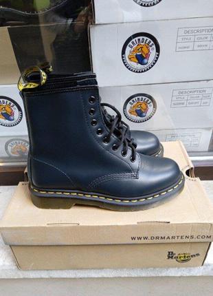 Ботинки берцы dr. martens 1460 smooth 11822411 navy  оригинал, оригінал, original