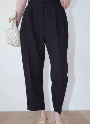 Люкс бренд, синие брюки от moschino, 52-54, xl-xxl