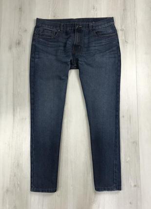N9 джинсы светлые синие голубые denim co классические