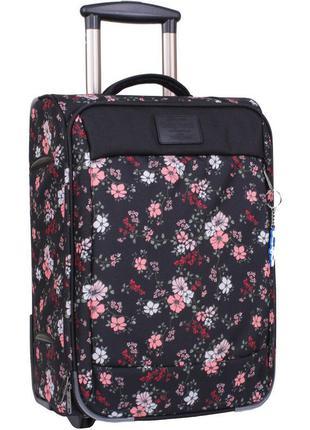 Чемодан, маленький чемодан, цветы, валіза, ручная кладь, самолетный чемодан
