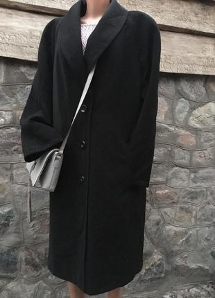 Бредовое демисезонное пальто/утеплённый плащ тренч/оверсайз