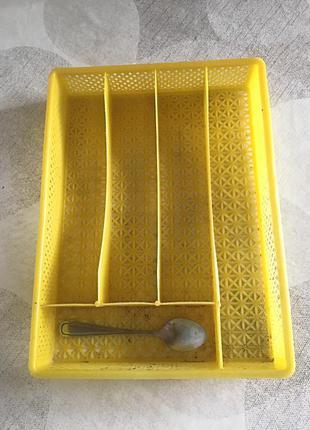 Подставка для ложек, вилок, ножей , органайзер для столовых приборов