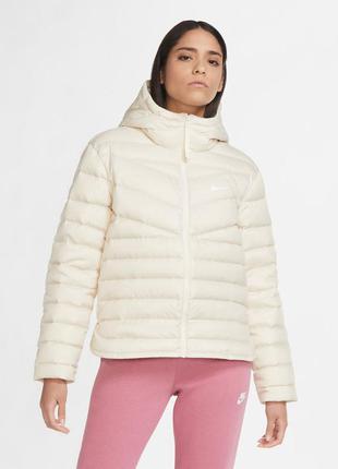 Куртка женская nike w nsw wr lt wt dwn jkt  cu5094-140