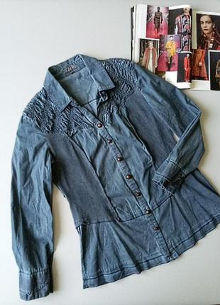 Коттоновая блуза рубашка 💖💖💖570