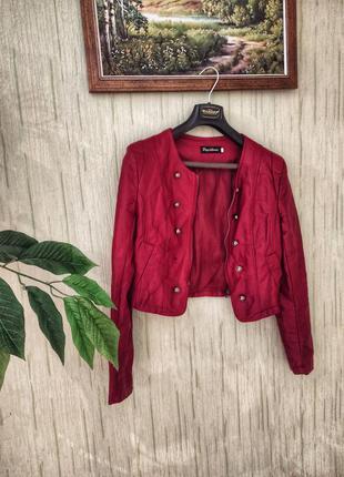 Кожаная куртка papillonne италия