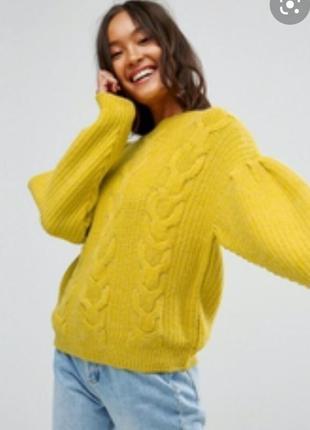 Шикарный трендовый свитер размер l наш 48