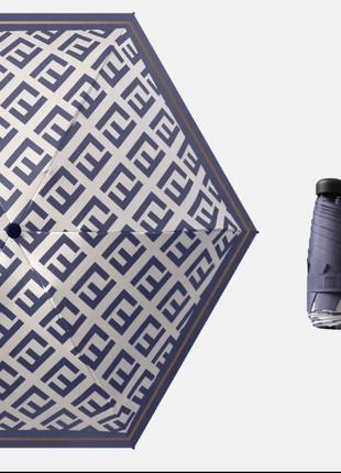 Крутой мини зонт в стиле fendi