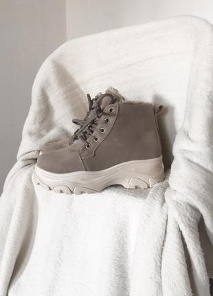Тёплые ботинки на зиму