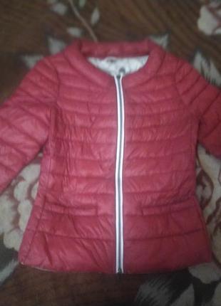 Шикарная ,стеганная демисезонная куртка пиджак monte cervino