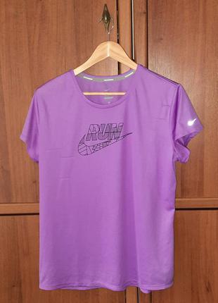 Жіноча спортивна футболка/женская спортивная футболка nike dri-fit рефлектив | reflective