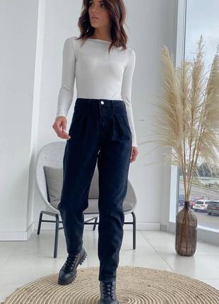 Джинсы чёрные баллоны, слоучи, крутые джинсы с выточками, много расцветок